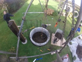 sinking a new well
